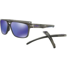 Oakley Crossrange Patch Sunglasses Grey Smoke/Violet Iridium